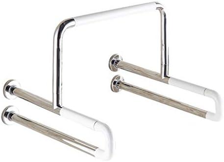 HJXSXHZ366 Ältere Patienten Hilfshandlauf Edelstahl-Handlauf Sicherheitsrutschfest ältere Behinderte Urinale öffentliche Toilette Urinal Handlauf 60 * 53,5 * 44cm