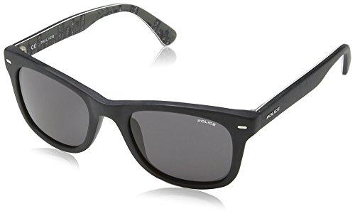 Police sunglasses S1861 Skyline 2 703F Acetate Matt Black - Sunglasses Police Skyline