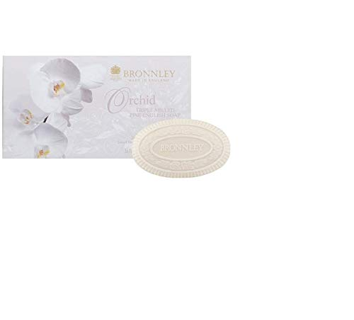 Bronnley Orchid 3 x 3.5 oz Triple Milled Soaps