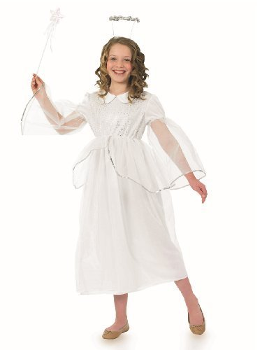 Fun Shack Angelic Angel Childrens Costume - AGE 8 - 10 YRS (L) by Fun Shack -