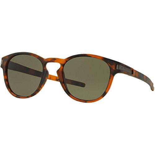 Oakley Men's Latch OO9265-02 Round Sunglasses, Matte Brown Tortoise, 52.6 - Can Prescription Oakley Sunglasses Be