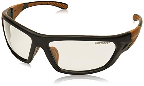 Carhartt Carbondale Safety Glasses with Clear Anti-fog Lens