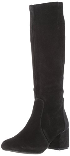 Hanna Harness Boot, Black Suede, 8.5 M US ()