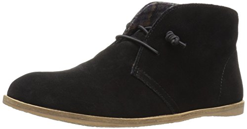 Lucky Brand Women's Ashbee Flat, Black, 5.5 M US