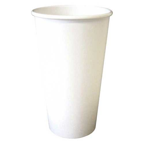 PerfecTouch 20 Ounce Insulated Paper Hot Cup Simply White -- 500 per case.