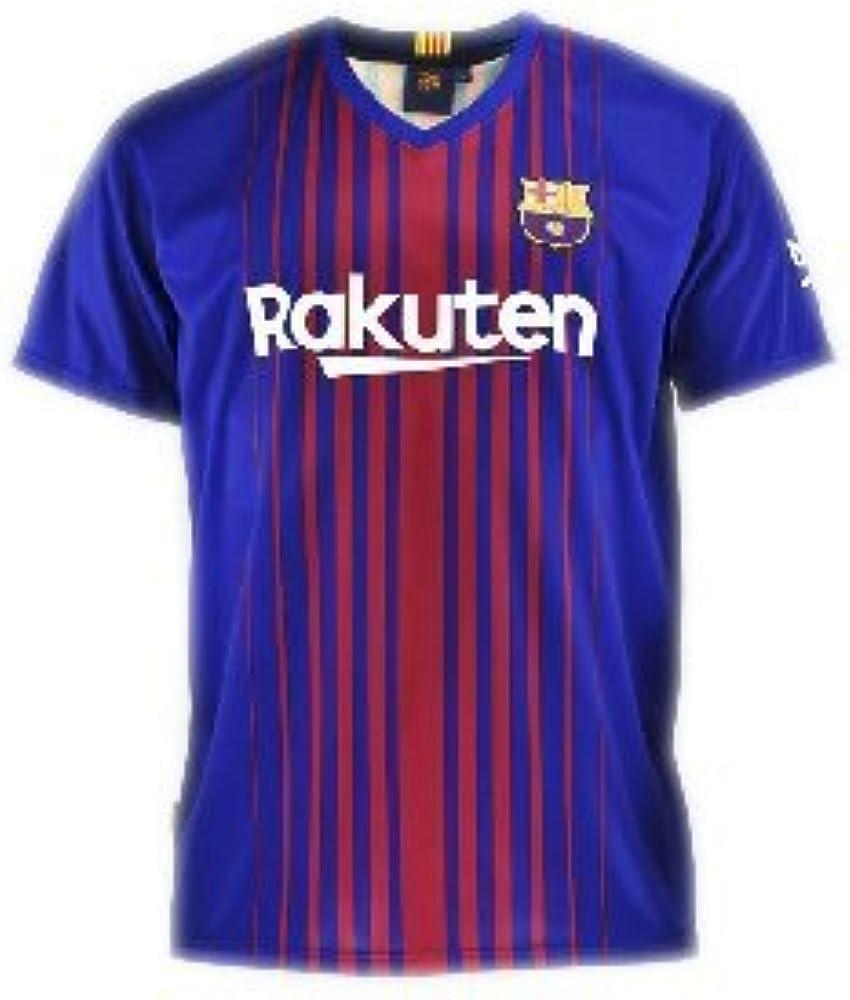 Camiseta 1ª Equipación Replica Oficial FC BARCELONA 2017-2018 ...