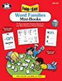 Fold and Say Word Families Mini-Books, Audrey Prince and Molly DeShong, 1586506218