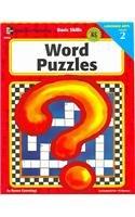 Word Puzzles: Grade 2 (Basic Skills) (Basic Skills Reading Puzzles)