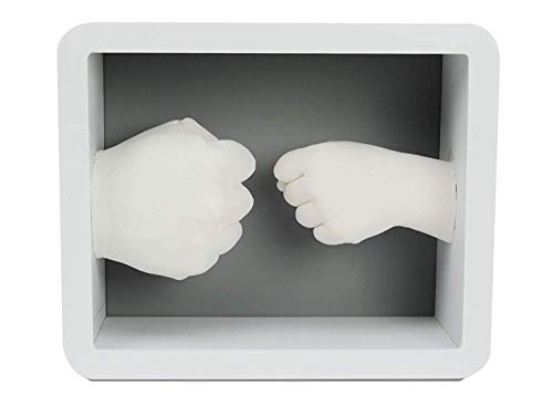 (Plushible Hand Casting Kit - Father's Day Gift - Hand Molding Kit - Memory Keepsake)