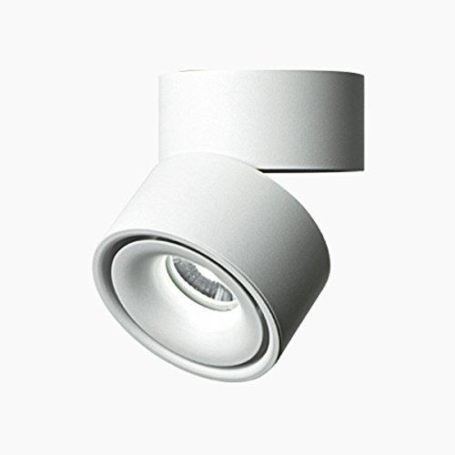 7w Twist Mini (MASO HOME MS-61789 The Single Mini Small Size 7W LED Ceiling Downlight Flush-Mount Ceiling Lamp Corridor Light (White Warm-light))