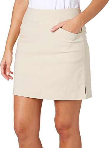 Lady Hagen Womens Tummy Control Golf Skort (Khaki Peyote, 4)