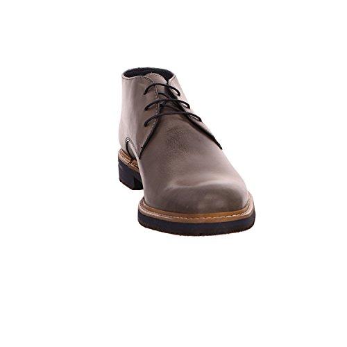 nicolabenson 9084a-3, Scarpe stringate uomo scuro-grigio