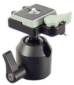 Ball Head Camera Support with Super Clamp