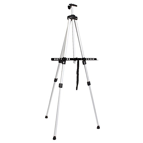 thanya-aluminium-alloy-adjustable-height-floor-poster-stand-supplies-painting-easels