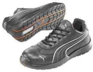 Puma Safety Black Mens Leather Daytona Low SD WRU ST Oxfords Work Shoes 5 W