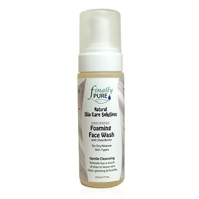Finally Pure - Unscented Face Wash for Dry to Normal/Mature Skin Types - 6 oz