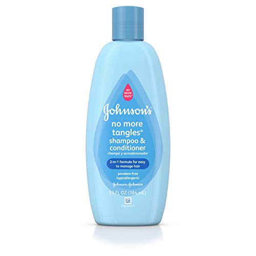 Johnson's No More Tangles Extra Conditioning Toddler Shampoo, 13 Fl. Oz.