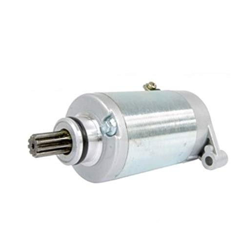 Motor de Arranque Starter Motor Compatible con HYOSUNG GV 650 Aquila GT 650 GTR Suzuki DL 650 V-Strom SF 650 SV 650 VZ 800