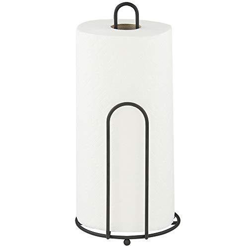 Home Basics Black Paper Towel Holder ()