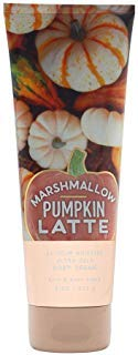 Pumpkin Marshmallow - Bath & Body Works Marshmallow Pumpkin Latte Ultra Shea Body Cream, 8 Ounce