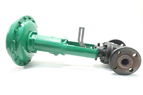 FISHER ED 667 Pneumatic Steel FLANGED 1-1/2IN Control Valve 600 6-30PSI ()