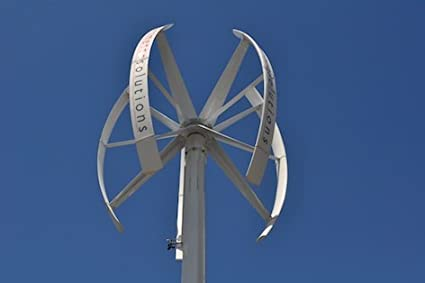 5Kw On-Grid Vertical Axis Wind Turbine - Complete: Amazon co
