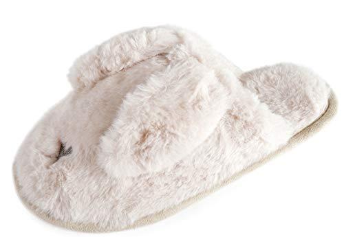 Ears Grigio Slumberzzz Pantofole Bunny Mulo Donna Da g6pFqX