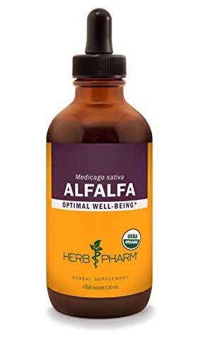 Herb Pharm Certified Organic Alfalfa Liquid Extract - 4 Ounce