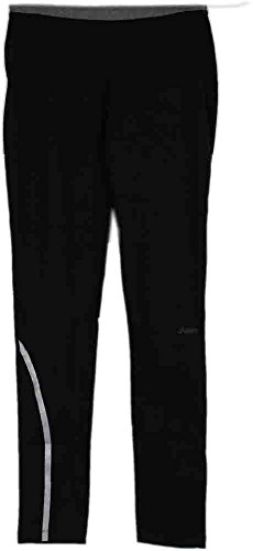 ASICS Women's Thermopolis LT Tights, Black/Heather Iron, (Asics Thermopolis Running Pant)