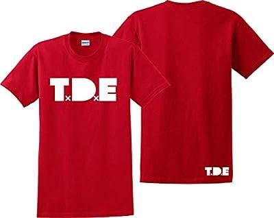 Custom Teez TDE T Shirt Kendrick Lamar KOD Cole World Tour Damn Album Tee Shirts