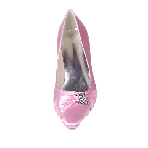 Wear 04 L Evening Platform amp; amp; Heel Office Wedding Purple 0723 Female YC Evening Pointed Fine wUA86w