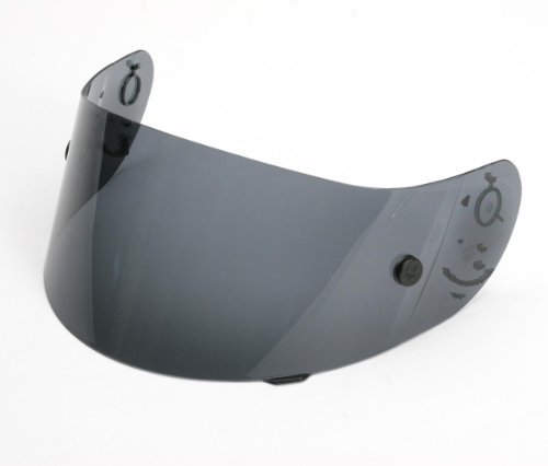 AGV Anti-Fog Race Shield for Ti-Tech Helmets and Other Models - Smoke