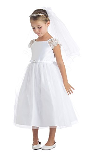 iGirldress Flower Girl First Communion Pageant Wedding Birthday
