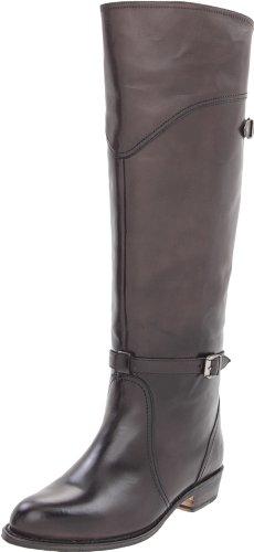 FRYE Women's Dorado Riding Boot - Smoke Smooth Polished V...