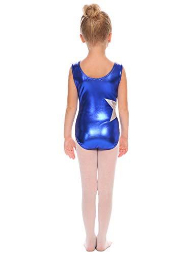 4b9d81367 Arshiner Girls  Gymnastics Solid Sparkle Leotard One-piece Suits ...