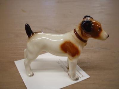 - Hagen Renaker Jack Russell Terrier Figurine (Standing)