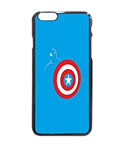 Captain America Art Durable Unique Design Hard Back Case Cover For iPhone 6 - 4.7