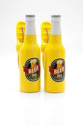 Toalla de playa boca Clips/clavijas – Botellas de cerveza