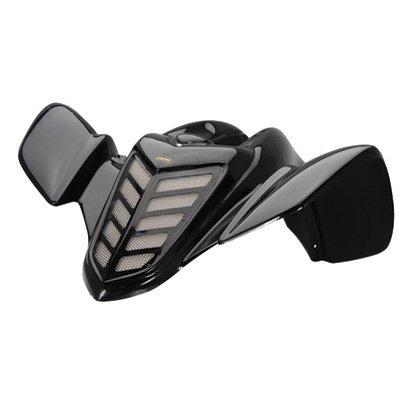 Maier Front Fender Black for Yamaha RAPTOR 660 ()