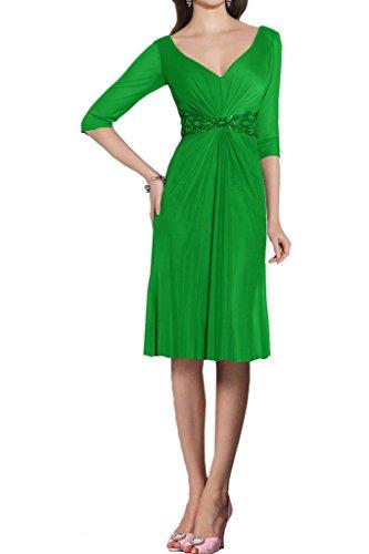 Ivydressing - Vestido - trapecio - para mujer Gruen-Kurz