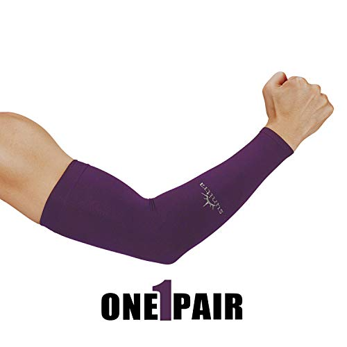 (SUNITRA Arm Sleeve with UV Protection Cooling in Summer Arm Warmers in Winter Arm Sleeves for Men, Women & Youth All Ages Arm Bike Under The Sun, Cycling Sleeves for Bikers Comfortable Sports Seeve.)