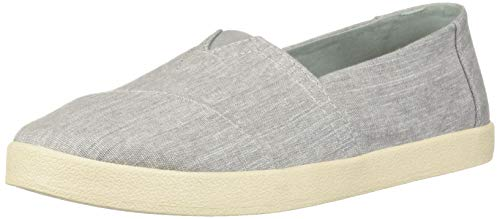 Micro Sparkle - TOMS Women's Avalon Loafer, Drizzle Grey Micro Crosshatch, 7.5 Medium US