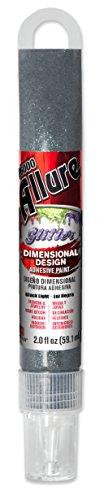 E6000 57091279 779H Allure Glitter Dimensional Adhesive Paint, Black Light, 2 fl. ()
