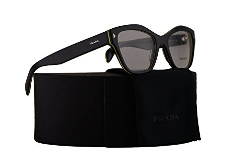 Prada PR27SV Eyeglasses 51-17-140 Grey Yellow w/Demo Clear Lens URO1O1 VPR27S VPR 27S PR 27SV (Prada Reading Glasses For Men)