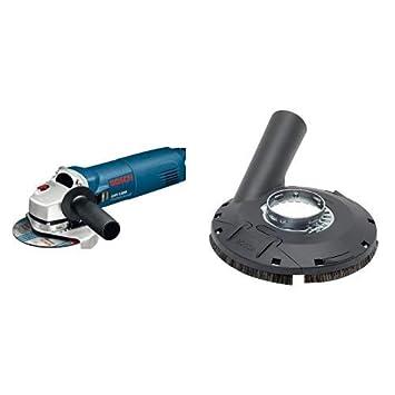 Bosch Professional Zubeh/ör Absaughaube zum Schleifen, 125 mm, f/ür Winkelschleifer