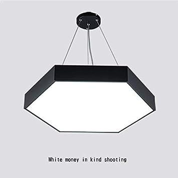 Mark la lámpara de araña Hexagonal de iluminación Moderna, dormitorios Calientes Creative Lights Lounge de