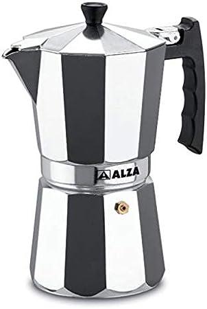 Cafetera Italiana ALZA LUXE 9 Tazas: BLOCK: Amazon.es: Hogar