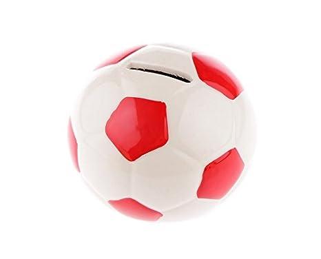 Nalmatoionme Creative Fußball Form Spardose Sparschwein