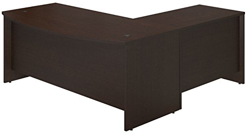 Bush Business Furniture SRE023MR 72W x 36D Bow Front Desk Shell with 42W Return