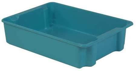 LEWISBins+ 500 lb Capacity, Heavy Duty Stack and Nest Container, Blue SN3023-8 Bl